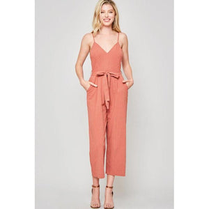 Giving It All You Got Cropped Jumpsuit-Jumpsuit-Composed Rose
