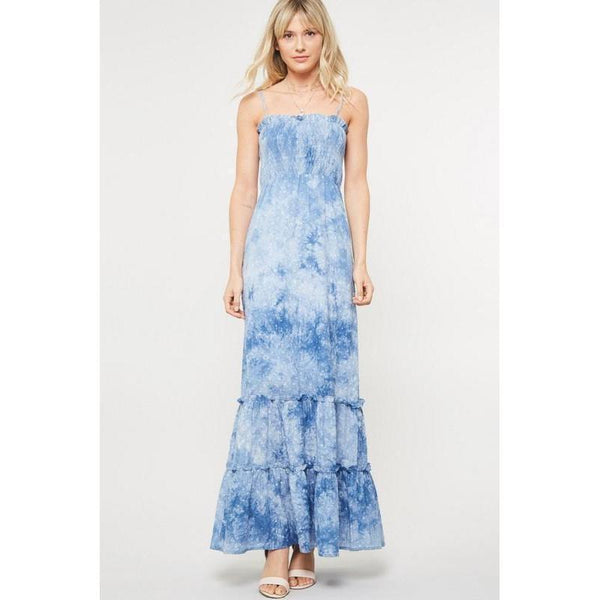 Head In the Clouds Maxi Dress-Dress-Composed Rose