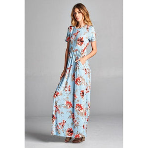 Heaven on Earth Maxi Dress-Dress-Composed Rose