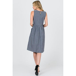 Indigo Girl Dress-Dress-Composed Rose