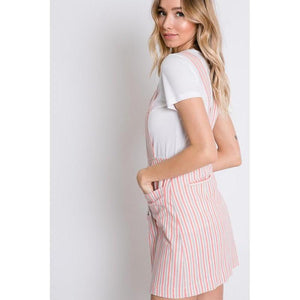 Lines In The Sand Overall Dress-Dress-Composed Rose