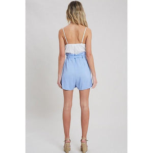 Not Just Any Paperbag Romper-Rompers-Composed Rose