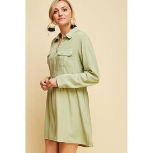 """Olive"" Our Love Dress-Dress-Composed Rose"