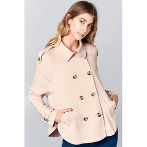 Princess and the Pea Coat Jacket-Jacket-Composed Rose