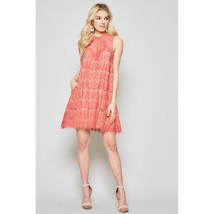 Sugar and Spice Lace Dress-Dress-Composed Rose