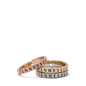Tennessee Ring Set-Ring-Composed Rose