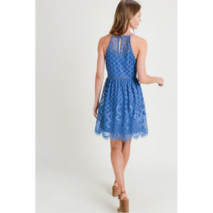 """The Laurel"" Lace Dress-Dress-Composed Rose"