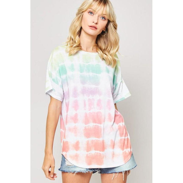 "To ""Dye"" For Tie-Dye T-Shirt-Top-Composed Rose"
