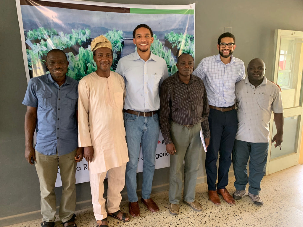 bissy meeting with the cocoa research institute of nigeria