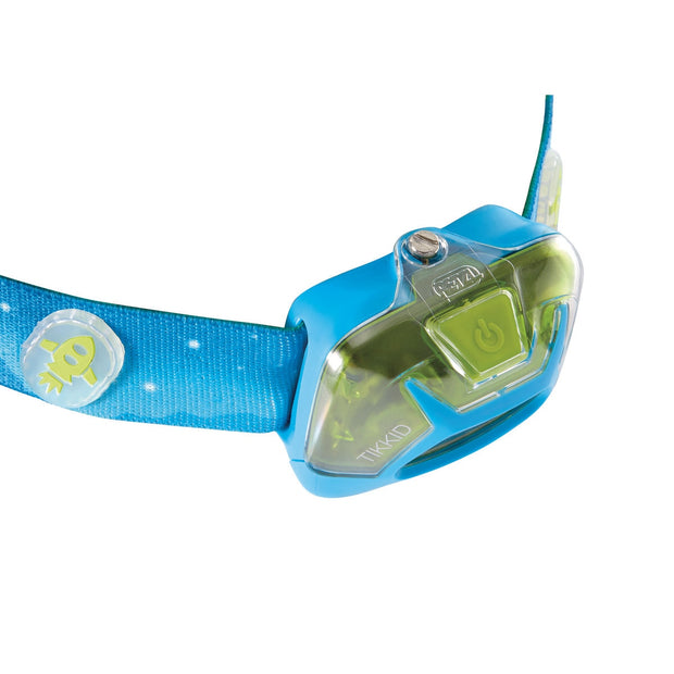 TIKKID® Compact headlamp for children from top.