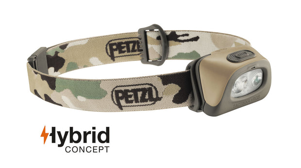PETZL TACTIKKA +RGB  headlamp, White, Red, Green or Blue lighting | 250 LM
