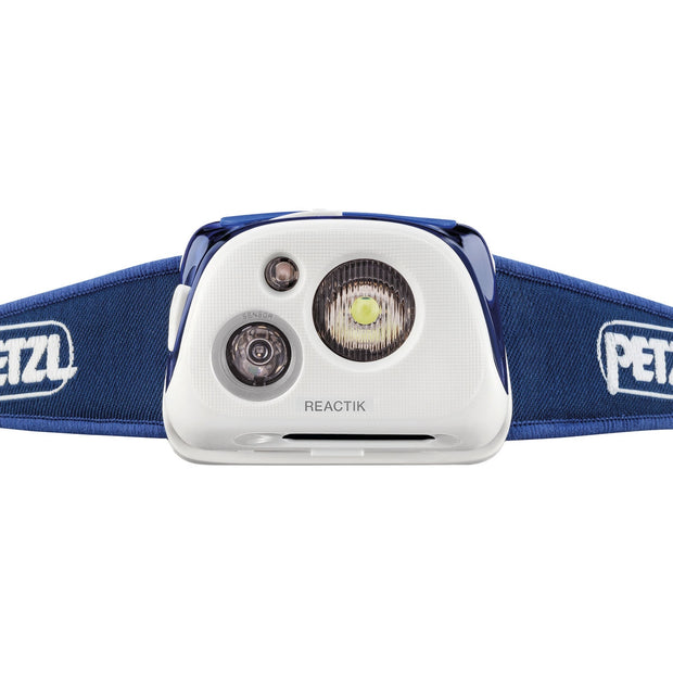 PETZL REACTIK Rechargeable Intelligent Headlamp with Reactive Lighting | 220 LM