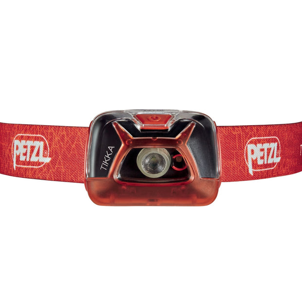 PETZL TIKKA Compact headlamp for proximity lighting and some movement | 200 LM
