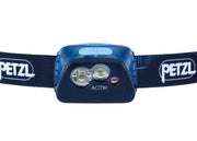 PETZL ACTIK Compact multi-beam headlamp with red lighting | 350 LM
