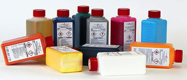 what is printer ink made of?