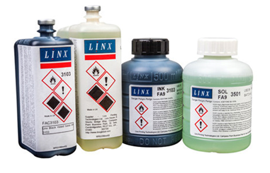 How to store Linx continuous ink?