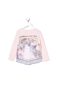 KIDS PRINT BACK JUMPER KINDRED SKIES