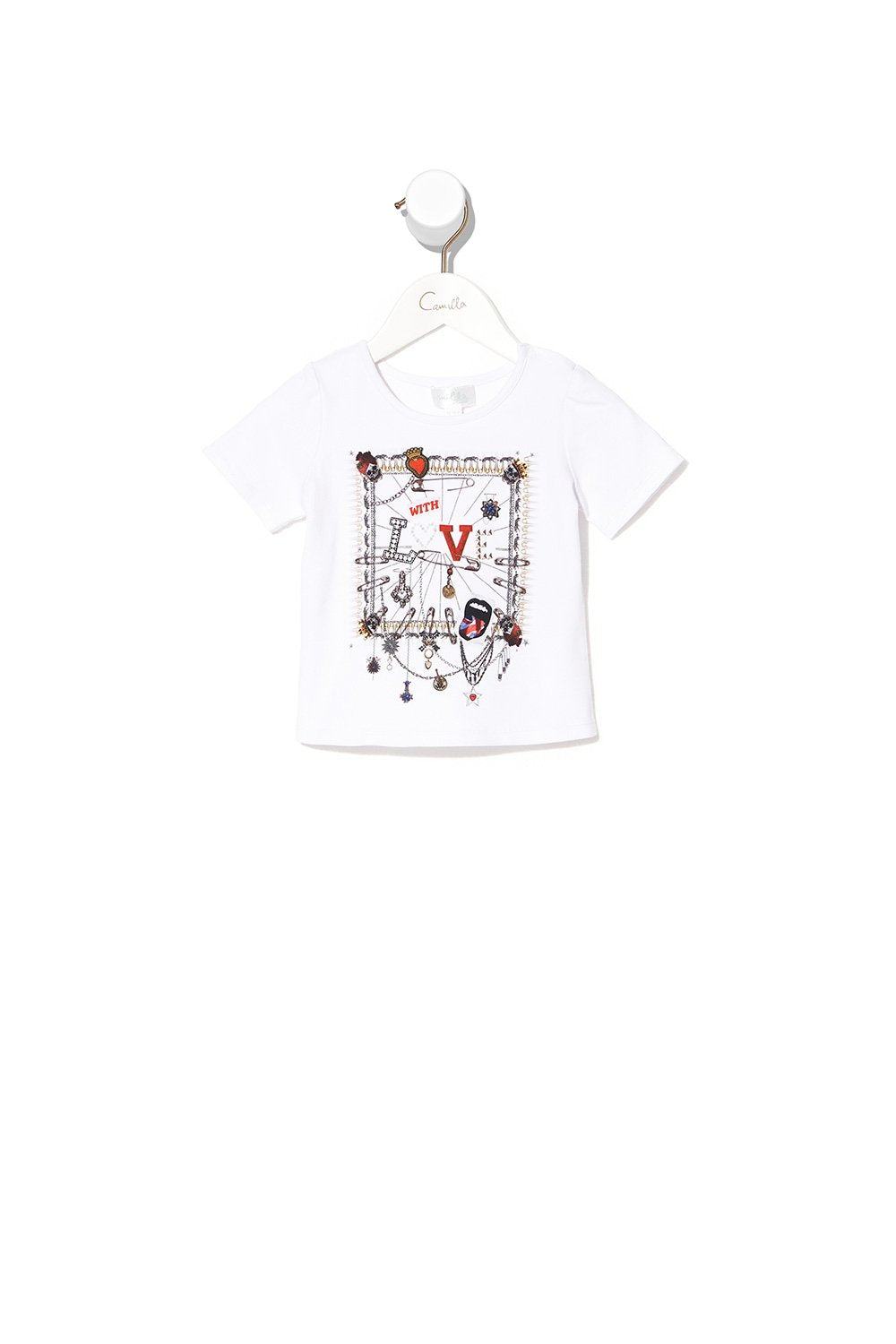 BABIES SHORT SLEEVE TEE LONDON CALLING