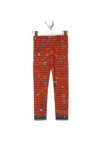 KIDS LEGGINGS 4-10 POETIC ANARCHY