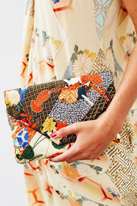 CAMILLA KISSING THE SUN ENVELOPE CLUTCH