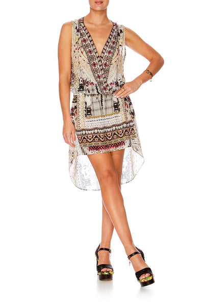 CROSS OVER FRONT DRESS SPELL BOUND – CAMILLA
