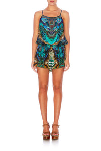 THE CREATOR SHOESTRING PLAYSUIT