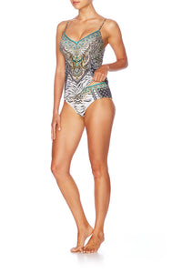 THE BODYGUARD V-NECK TANKINI