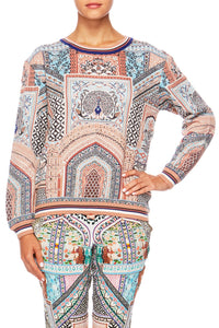 CAMILLA LADY LAKE ROUND NECK SWEATER