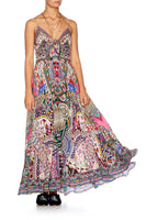 KALBELIA QUEEN LONG DRESS W TIE FRONT