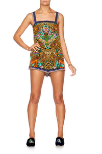 THE JUNGLE BOOK SHIFT HALTER PLAYSUIT