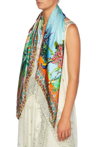 CAMILLA BENNYS BLESSING LARGE SQUARE SCARF
