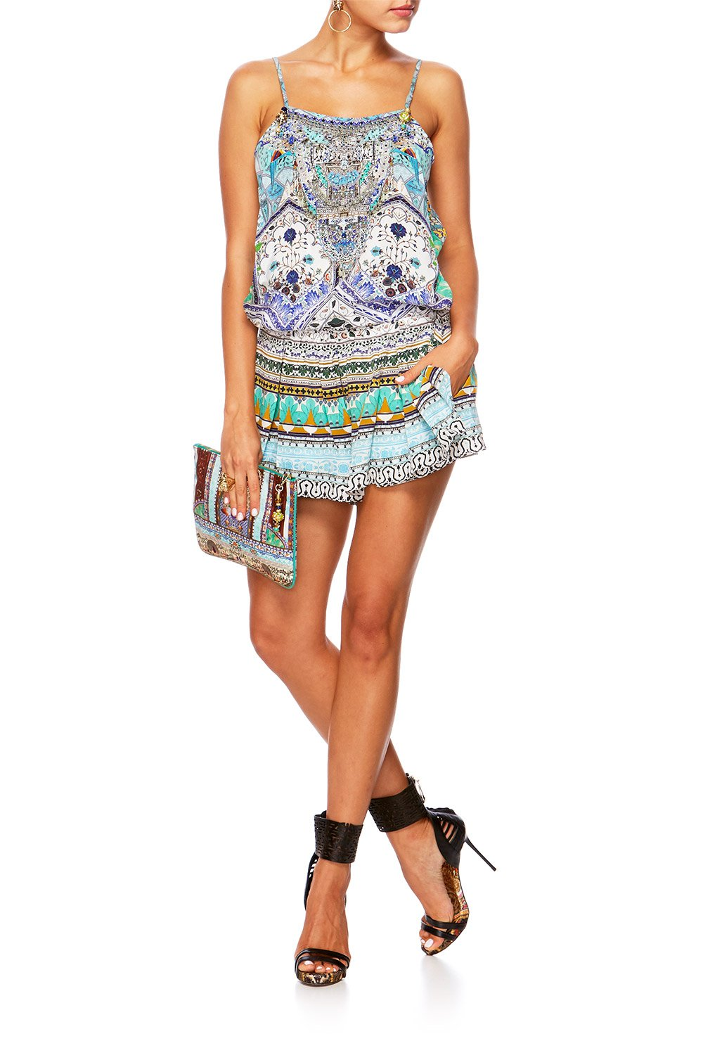 CAMILLA EVERLASTING UDAIPUR SHOESTRING PLAYSUIT
