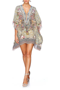 SOUL SISTERS SHORT LACE UP KAFTAN
