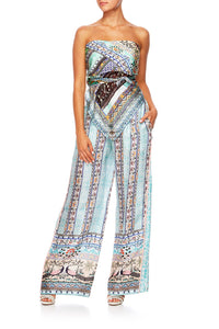 THE KING AND I PANTS WITH SIDE SPLIT