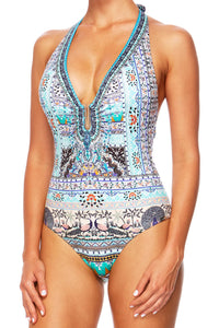 THE KING AND I U-RING HALTER ONE PIECE