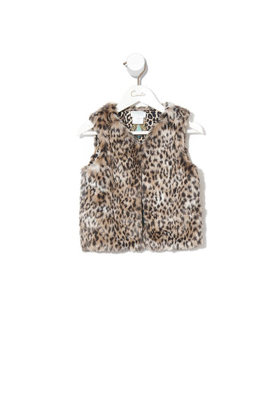 INFANTS FAUX FUR VEST NOMADIC NYMPH