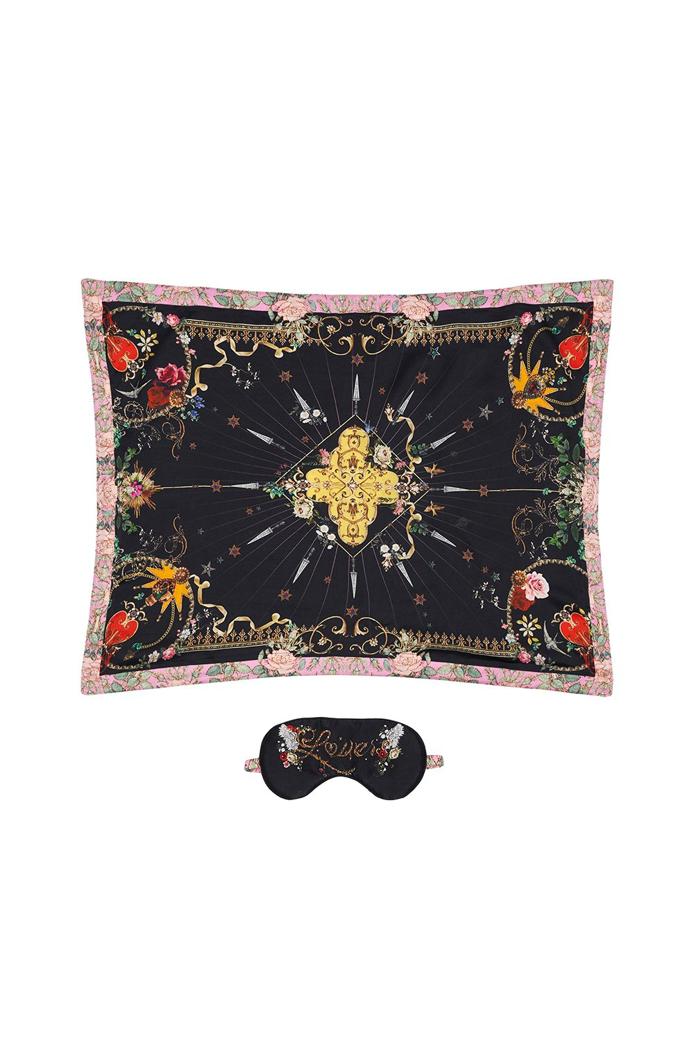 EYE MASK AND PILLOW SET MONTAGUES CAPULET