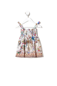 BABIES DRESS WITH SHIRRING BY THE MEADOW