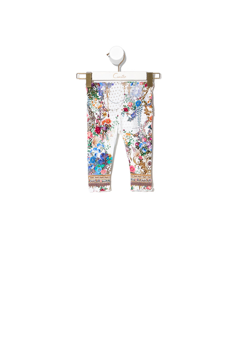 BABIES LEGGINGS WITH FRILLS BY THE MEADOW
