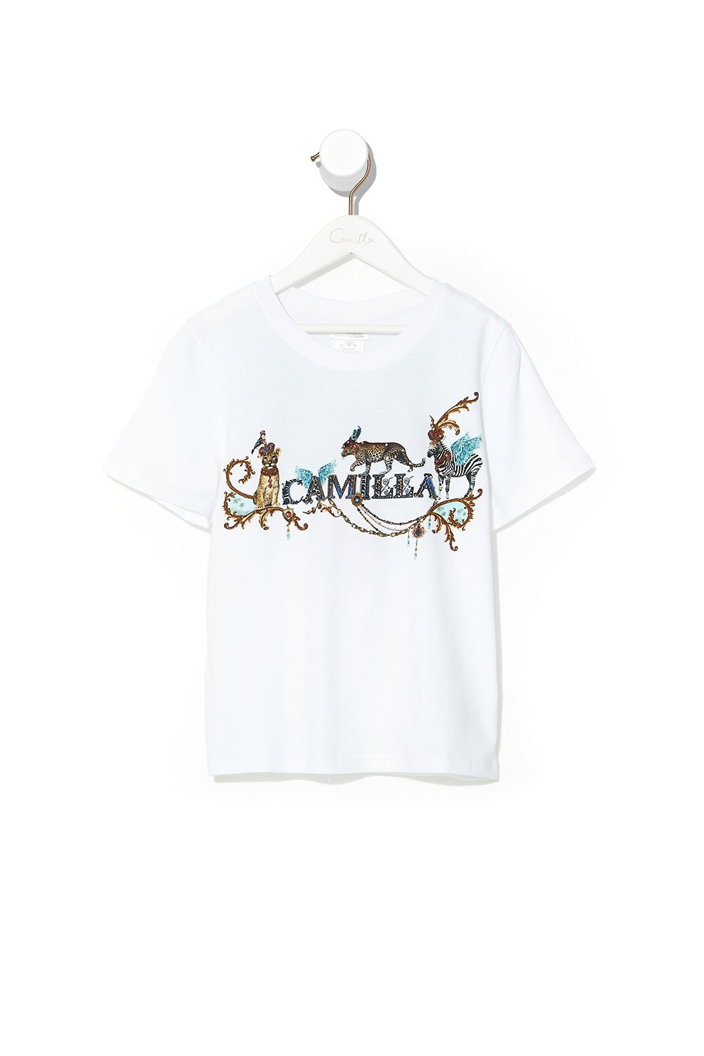 KIDS SHORT SLEEVE T-SHIRT 4-10 ANIMAL ARMY