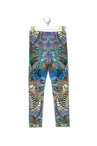 KIDS LEGGINGS 12-14 ANIMAL ARMY