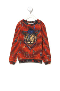 KIDS SWEATER 4-10 QUEENS CHILDREN