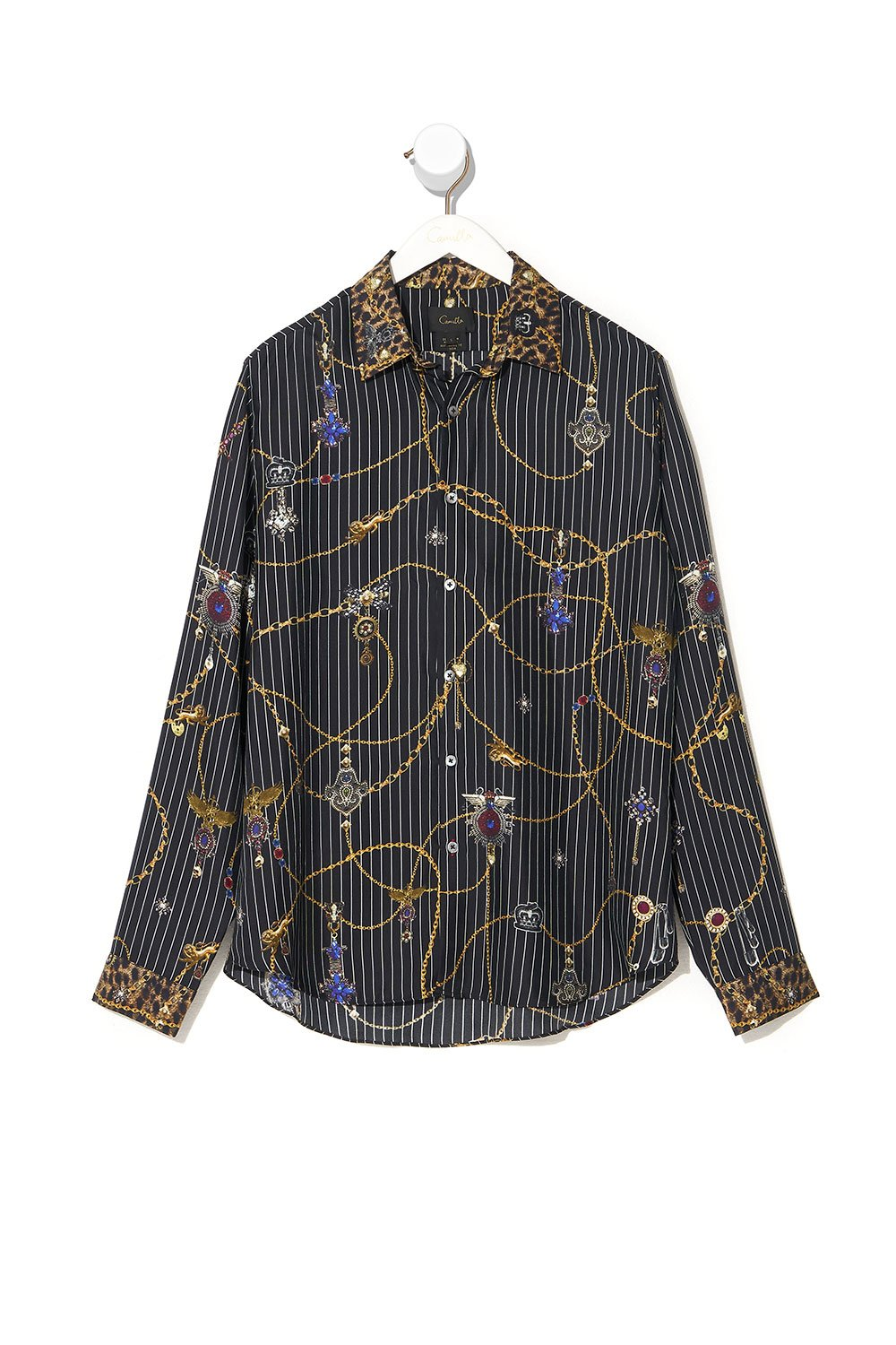 COLLARED LONG SLEEVE SHIRT PUNK OF PRIMROSE