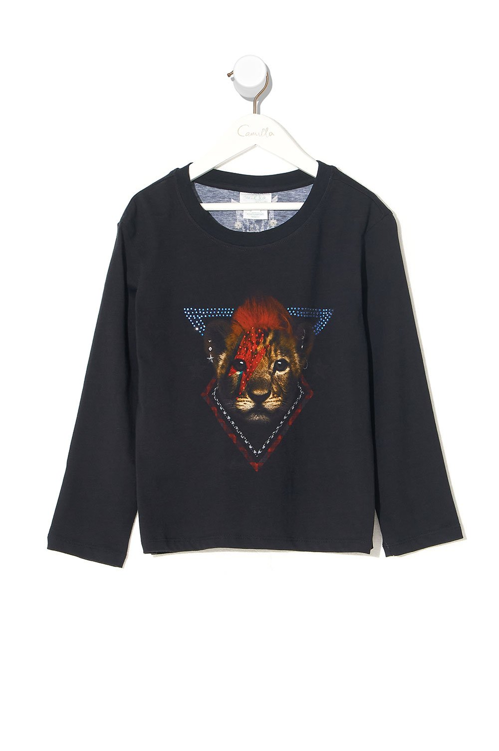 KIDS LONG SLEEVE TOP 4-10 LONDON CALLING