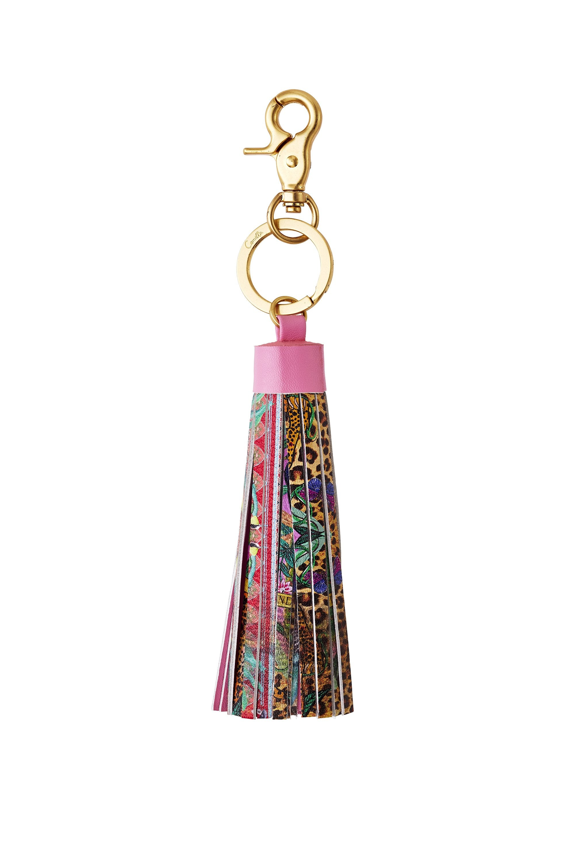 THE JUNGLE BOOK LEATHER TASSEL KEY RING