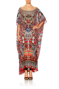 ROUND NECK KAFTAN QUEEN ALIKA