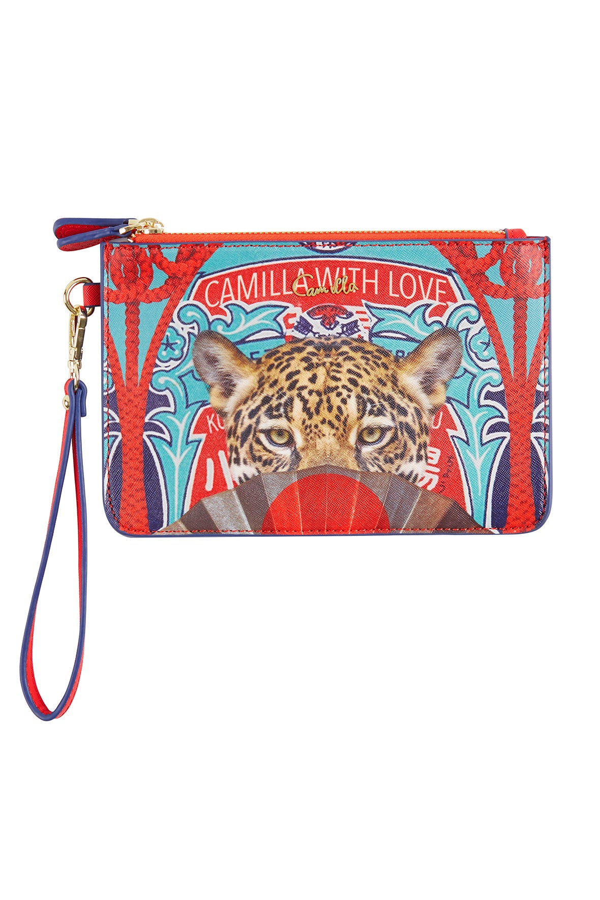 CAMILLA LEOPARD WITH LOVE TWIN PURSE