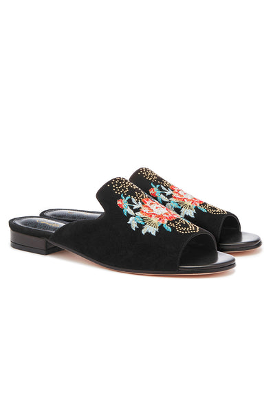CAMILLA QUEEN OF KINGS PEEP TOE SLIPPER
