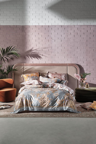 KING BED QUILT COVER SET LE PALAIS DU ZAHIR