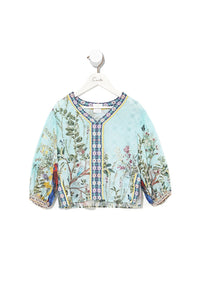 INFANTS BLOUSE WITH WIDE BAND MILLAS BACKYARD